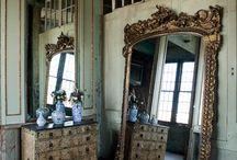 Baroque  Framed Mirror Golden