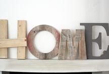 Scritte in legno