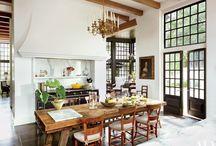 LA house kitchen