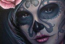 Dia de los Muertos tatoo ideas / by Jose Montemayor
