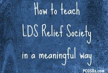 Teaching Relief Society