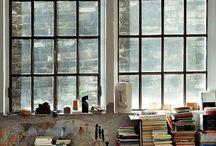 Atelier en werkplaats inrichting