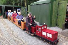 The Ashmanhaugh Light Railway / The fun of a little hobby railway on site