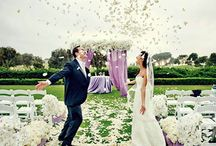 Spring Wedding / Spring weddings are a great time to incorporate EVERY color into your wedding! https://www.appycouple.com/signup?q=signup&color=pink / by Appy Couple