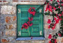 Greece doors & windows