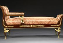 Empire furniture / Mijn interesse in de Empire periode.