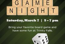Game Night at Trinity Falls / Bring your favorite board game and have some fun at Trinity Falls.
