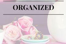 Organization & Planning Tips