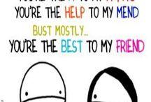 Dear best friends...