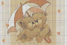Cross stitch - Forever friends