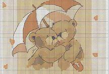 Cross stitch - Forever friends