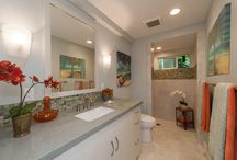 Auloa Mist II / Laundry and Bathroom.  Designed by Archipelago Hawaii. Built by Mokulua High Performance Builders