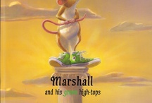 Marshall and His Green High-tops / My 1st children's picture book published in 2008 and illustrated by Lorena Pugh.
