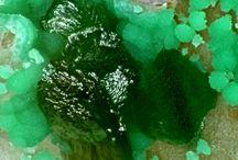 Kipushite (Groupe) / Kipushite (Phosphate), Philipsburgite (Arséniophosphate)