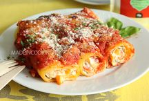 pâtes, lasagnes...