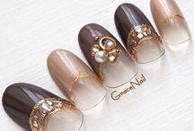 秋ネイル Autumn nail