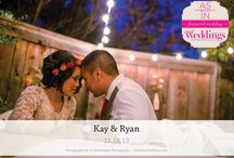 Featured Real Wedding: Kay & Ryan {from the Summer/Fall 2014 Issue of Real Weddings Magazine} / Kay & Ryan-Featured Real Wedding from the Summer/Fall 2014 issue of Real Weddings Magazine, www.realweddingsmag.com. Photos by and copyright www.LizZimbelman.com; Officiant: www.ReverendTan.com. See entire post here: http://www.realweddingsmag.com/featured-real-wedding-kay-ryan-from-the-summerfall-2014-issue-of-real-weddings-magazine/