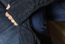 Knitting, fancy cloves