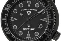 Swiss Legend Neptune Madness / Aggressively sized, Swiss Legend's Neptune watches are benchmarks of bold reliability.
