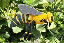 bijen / als over het leven en herkenning  ziekte