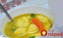 Prílohy do polievky