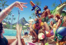League of Legends concept arts