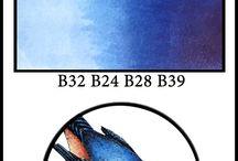 Copic - Blue