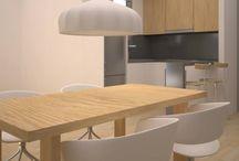 Lepanto | Proyecto de reforma de cocina de Grupo Inventia en Barcelona / Renders 3D para un nuevo proyecto de reforma de cocina en Barcelona. Grupo Inventia llevará a cabo las mejoras de imagen y equipamientos en esta cocina de la calle Lepanto