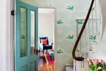 Hallway And Stairs Inspiration Wallpaper