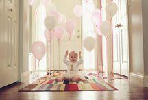 First birthday photo ideas