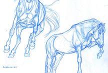 Kék lovak