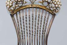 Hårkammar  -  Hair combs