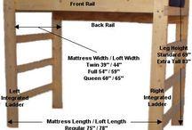 DIY LOFTS BEDS