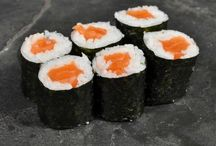 Makis y sashimis / ¡Deliciosos!