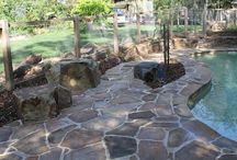 Warranwood, Vic / This Warranwood pool area is now so much more than a place to cool off in the summer. It is a place for the whole family to spend time together, relaxing and enjoying the beauty of nature.