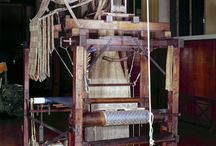 Loom Restoration / Richard Humphries has carried out some important loom restoration, helping to pass on his skills to the next generation of hand weavers.  www.humphriesweaving.co.uk