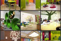 School inrichting overige ruimten