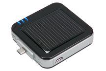 Zonne opladers / Gebruik de gratis energie van de zon voor het opladen van uw apparaten.