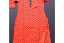 Traditional Kurta   Ladies Tunic Tops / Get beautiful handmade & traditional ladies kurta online offered by Gopooja.