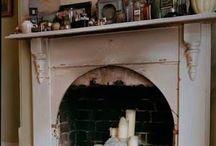 kamin dekoration