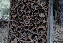Cast-Wrought-Iron / giet-smeed-ijzer