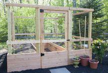 Raised Bed Vegetable Garden / Our veggie garden