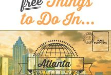 "Travel: Atlanta! / Serving as a hot-spot for Civil Rights activities during the 60's, Atlanta is overflowing with history in addition to tons of Southern cultural faves. With tons of amazing food, an aquarium, museums, and much more, Atlanta is a great Southern stop for your next tour! Check out all our ""Must Dos"", tips, and tricks here!"