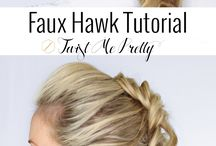 Hair / Ways to do hair in a easy way