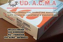 ACMA / ABSTRAX CONSULTANT MARKETING ASSOCIATE ( ACMA ) SUPP. TECHNICAL EQUIPMENT & ENGINEERING  Memberikan pelayanan jasa dan produk secara lengkap dan menguntungkan. ACMA adalah perusahaan yang bergerak di bidang penjualan peralatan bengkel otomotif seperti :  Bolt Tools Power Tools Service Equipment Lubricating Equipment Motorcycle Part Equipment  081321789300 022-93999396 Pin : 750ED408 Pin ACMA : 56FB6E22