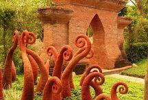 Rzeźby ogrodowe- pomysły.