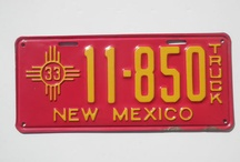My Favorite License Plates / License plates I will NOT be cutting up for use in my license plate art and maps :)