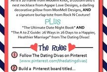 Love and Marriage / Things for a healthy, fun marriage / by Courtney {Scraps and Scribbles}