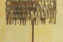 Abajur de chaves