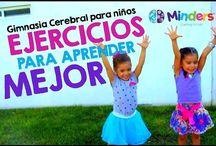 Videos Ejercicios, gimnasia cerebral niños